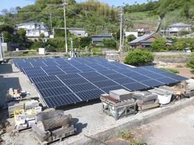 太陽光発電所 発電開始!