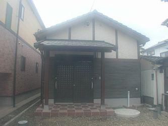 シンプルで落ち着いた和の趣の平屋住宅