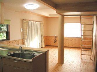 ロフト付き平屋住宅